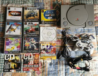 Playstation 1 Completa Ps1 + Juegos y Demos