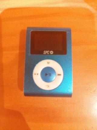 MP3 azul.