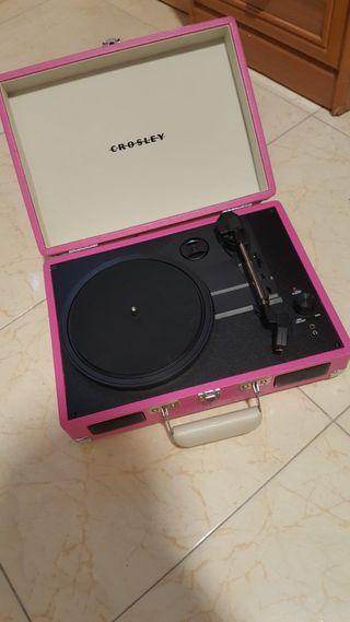 Maletín Tocadiscos Crosley Cruiser Deluxe Vintage
