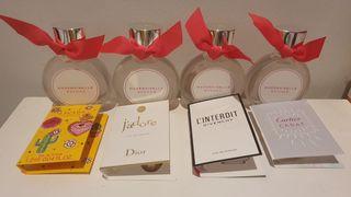 Lote de 4 perfumes Rochas Mademoiselle