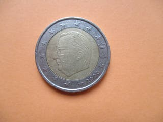 MONEDA AÑO 2000 DE 2 EUROS BELGICA
