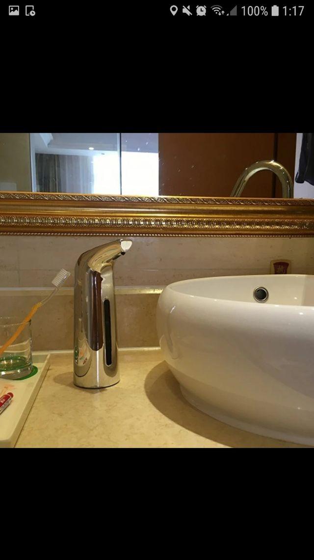 dispensador automatico de jabón