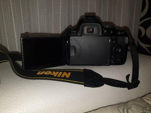 NIKON 5100- cámara fotos réflex digital