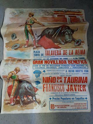 Cartel taurino antiguo