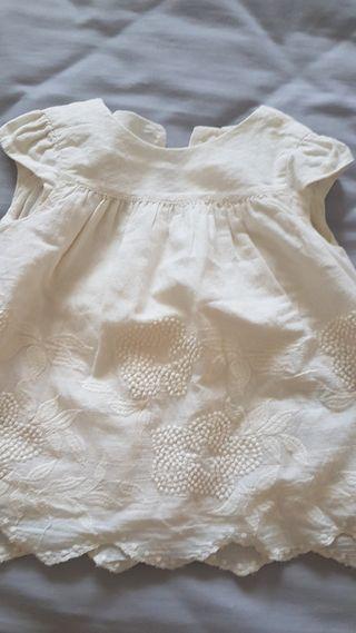 vestido zara bebe