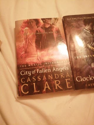 mortal instruments + infernal devices series