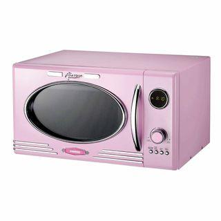 Microondas rosa Clásico Melissa Vintage