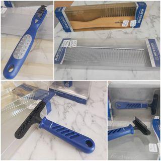 peines,cepillos y cortanudos para perros mascotas