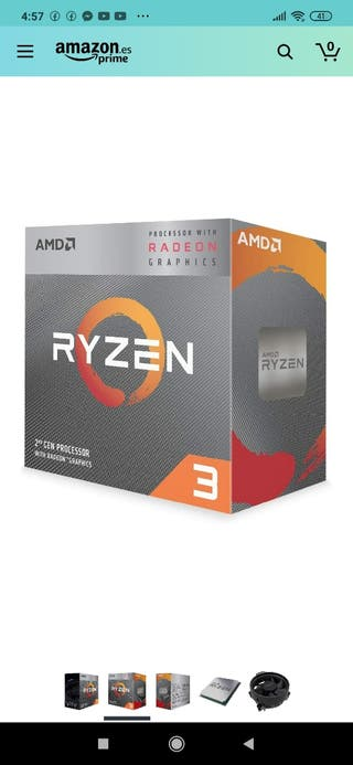 Pc.Procesador Ryzen 3 3200g.Grafics Radeon Vega.8