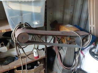 Lijadora de banda industrial 380v