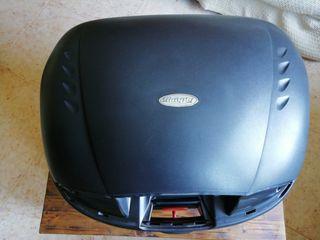 Baúl moto 2 cascos int. 45L