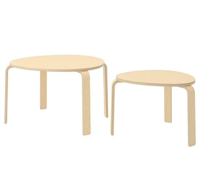 Juego dos mesitas nido Ikea Svalsta