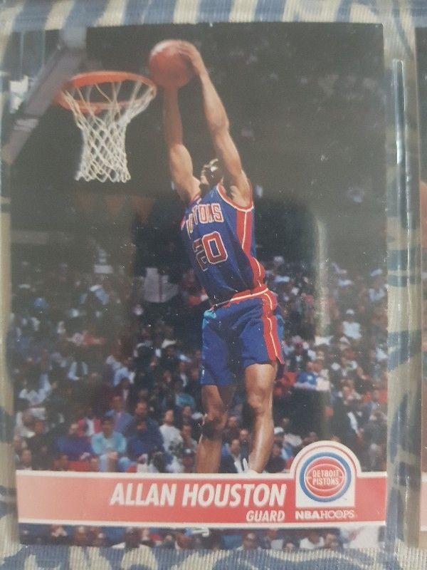 Trading card ALLAN HOUSTON (Detroit Pistons) #59