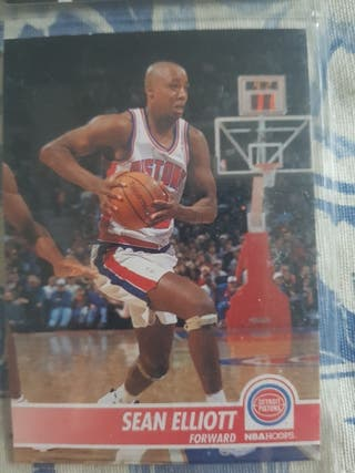 Trading card SEAN ELLIOTT (Detroit Pistons) #58