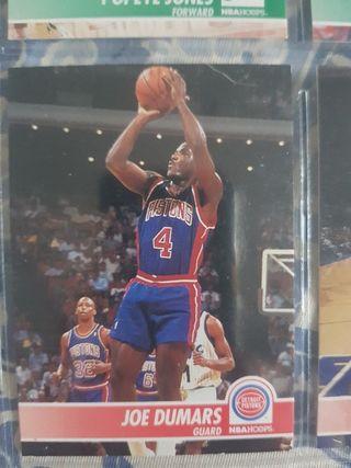 Trading card JOE DUMARS (Detroit Pistons) #57