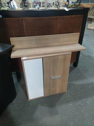 mueble con estanteria