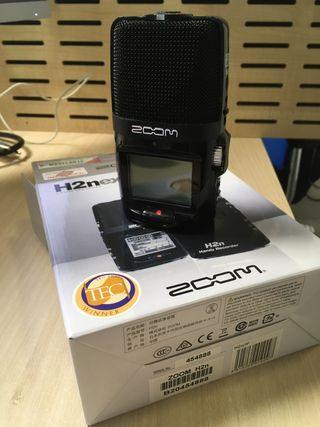 Grabadora portátil Zoom H2