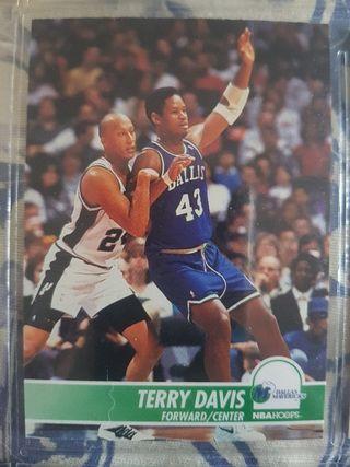 Trading card TERRY DAVIS (Dallas Mavericks) #41