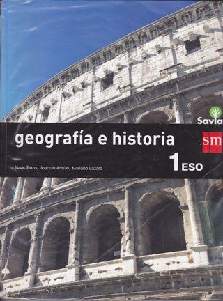 GEOGRAFIA E HISTORIA 1º ESO SM