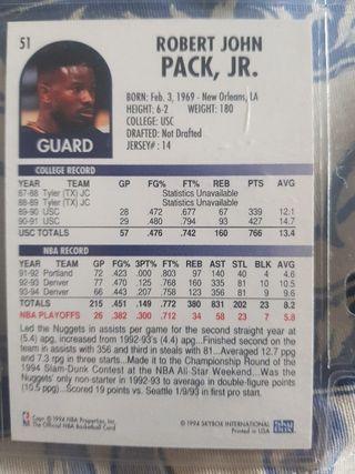 Trading card ROBERT PACK (Denver Nuggets) #51