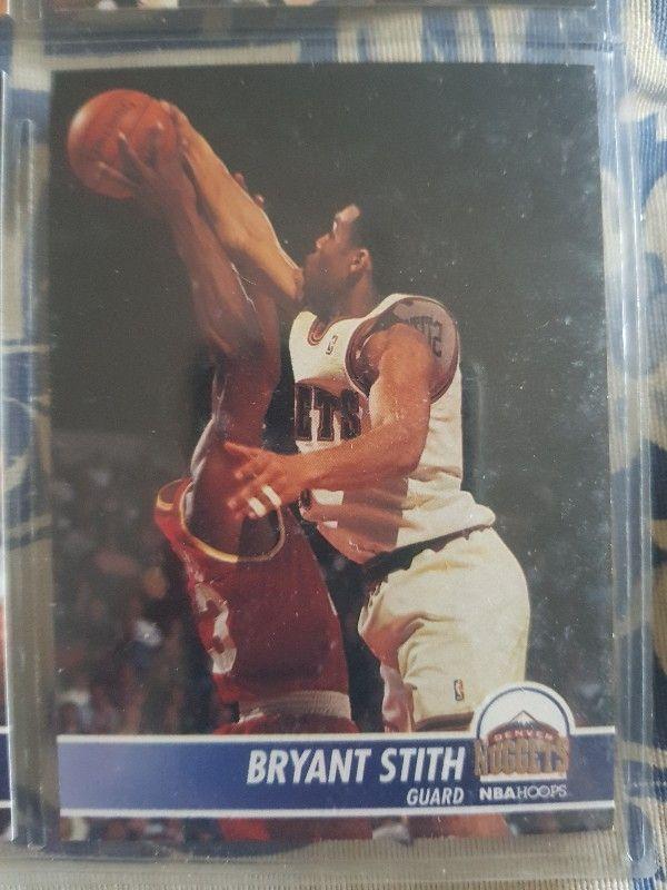 Trading card BRYANT STITH (Denver Nuggets) #53