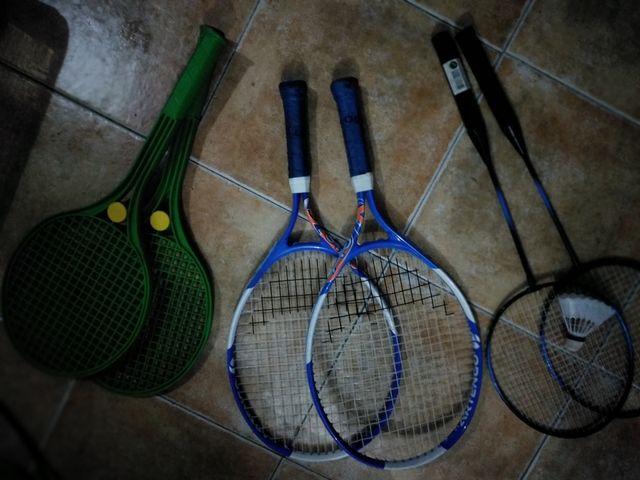Raquetas, petanca