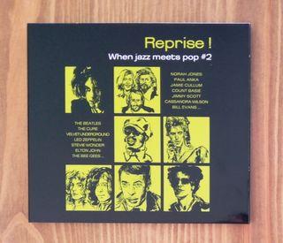 CD Reprise! When jazz meets pop, volumen 2