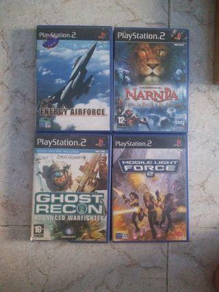 videojuegos para la play 2