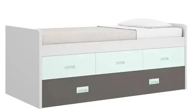 Doble cama con cajones oni400b#
