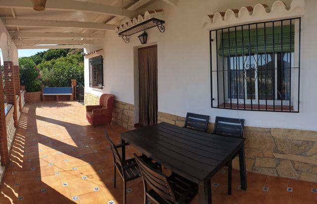 Cortijo de alquiler en Frigiliana con piscina (Frigiliana, Málaga)