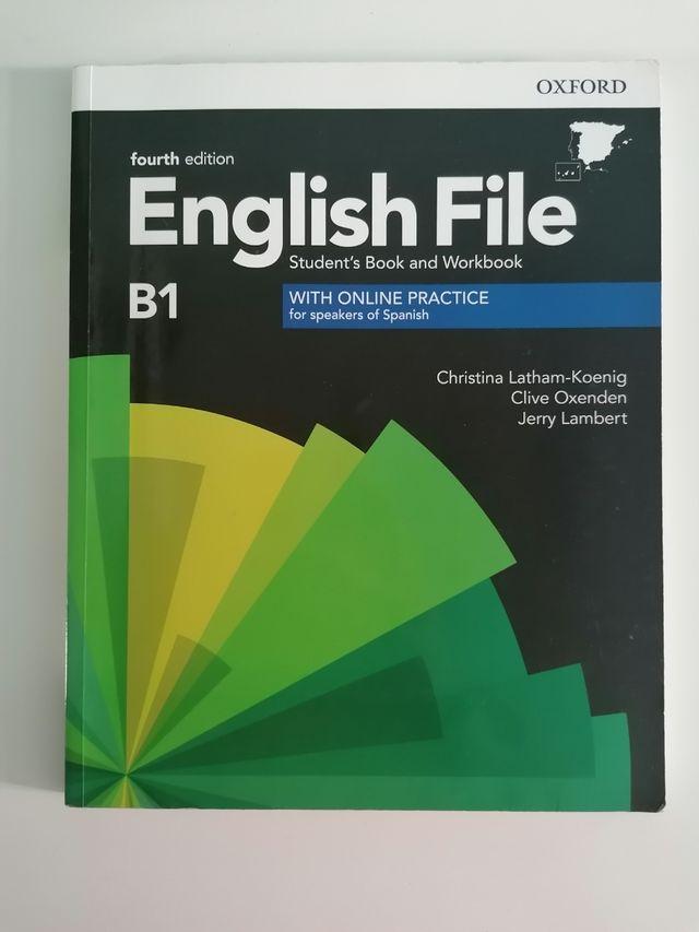 libro English file B1