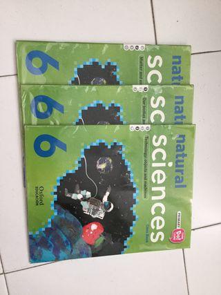 Set de libros natural sciences class book 6º prim