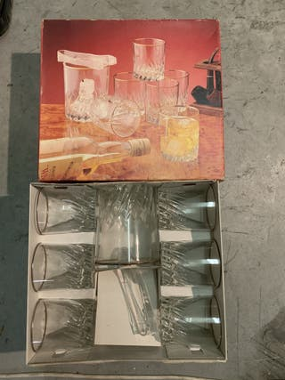 Set de vasos de Whisky