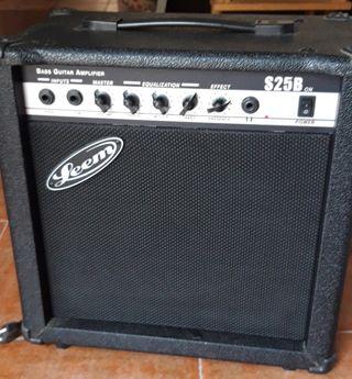 Amplificador de bajo 25w