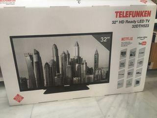 """Tv Telefunken 32"""" smartv"""