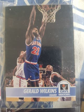 Trading card GERALD WILKINS (Cleveland) #39