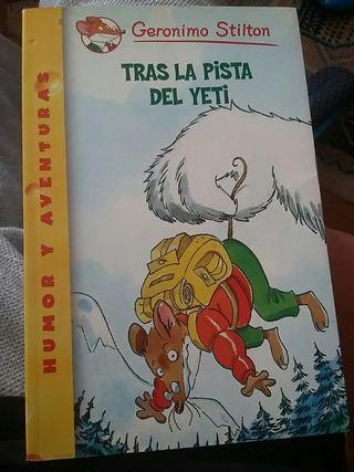 Lote 6 libros Geronimo Stilton