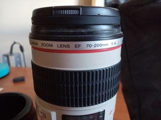 Objetivo Canon 70-200 f4