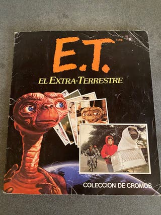 Álbum cromos ET El Extraterrestre