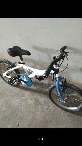 Bicicleta infantil 16'