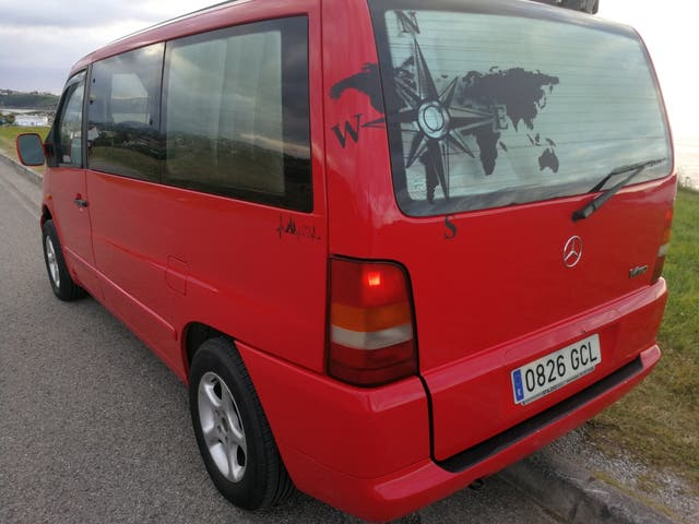 Mercedes-Benz Vito 1998 de segunda mano por 6.150 € en Cudon en WALLAPOP