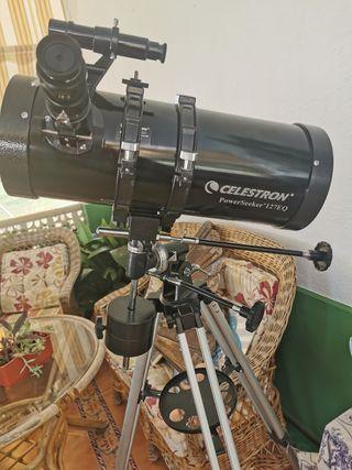 Vendo Telescopio Celestron powerseeker 127eq