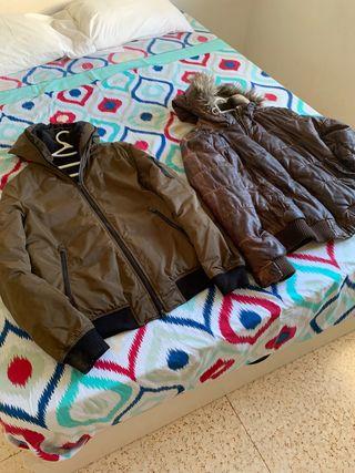 2 chaquetas 25 euros