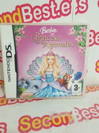 Nintendo DS Barbie La princesa de los animales