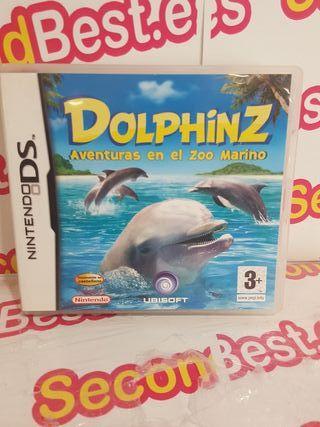 Nintendo DS Dolphinz Aveturas en el Zoo Marino