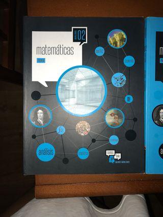 libro matematicas 2 bach