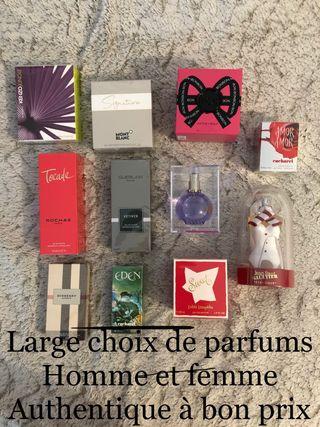 Parfums femme homme authentique moins cher neuf