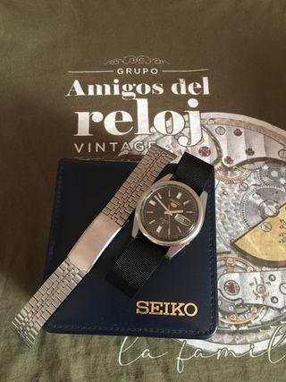 Reloj seiko automatico vintage nuevo