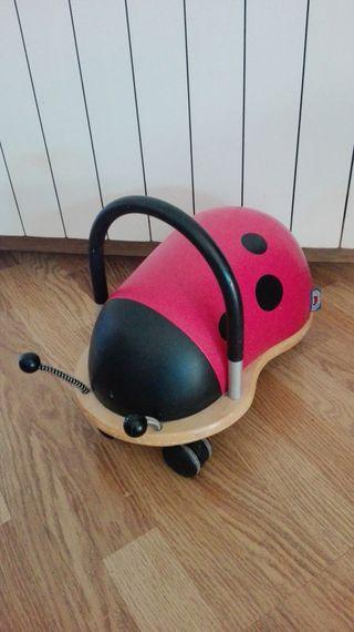 Correpasillos Mariquita Wheelybug (1 a 3 años)