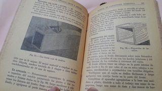Manual de carpintería. Año 1945. Curioso libro.